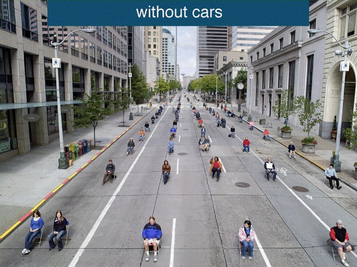 200 people without cars